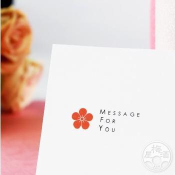 メッセージカード|umeshu