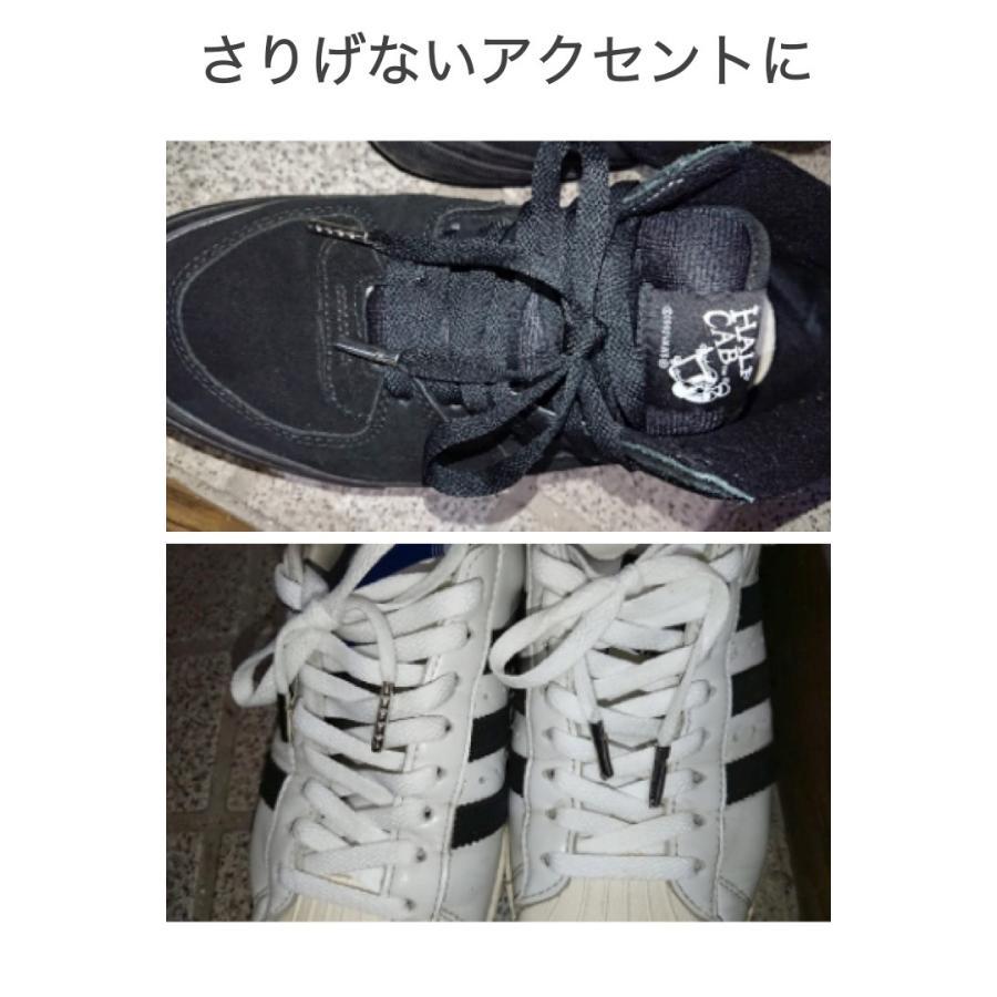 アグレット シルバー 10個セット 靴紐 先端 固定 カスタマイズ 靴ひも 金具 金属 シューズ アクセサリー ほつれ 補修 自作 DIY umiwo 04
