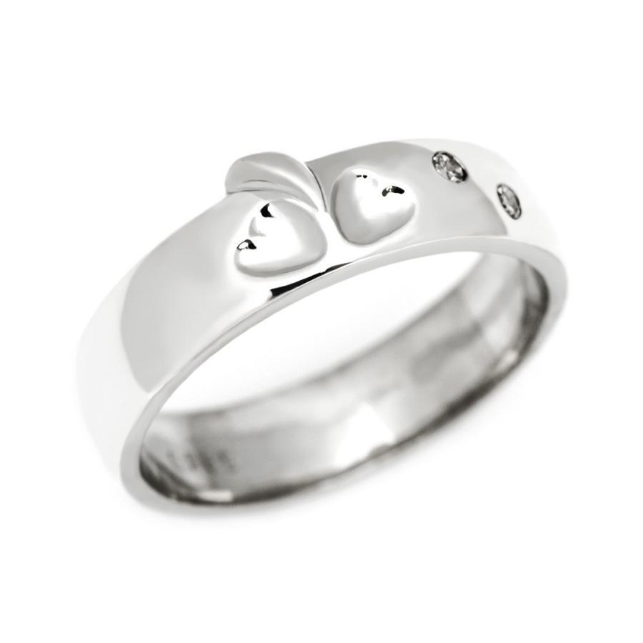 絶妙なデザイン k18WG Lady's ペアリング 4月誕生石 アクセサリー 指輪 結婚指輪, JA和歌山県農JOIN decbc63e