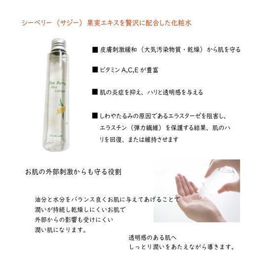 【ウナ・ルーナ】シーベリー化粧水 馬油配合 しっとり感 乾燥肌 敏感肌 人気 スキンケア 保湿 持続力 うるおい|unaluna|06
