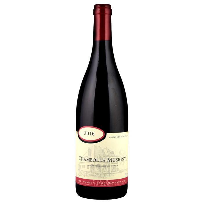 G. ロブロ・マルシャン[2016] シャンボール・ミュジニー 赤 750ml Chambolle-Musigny[G. Roblot-Marchand] フランス ブルゴーニュ 赤ワイン|unibiswine|03