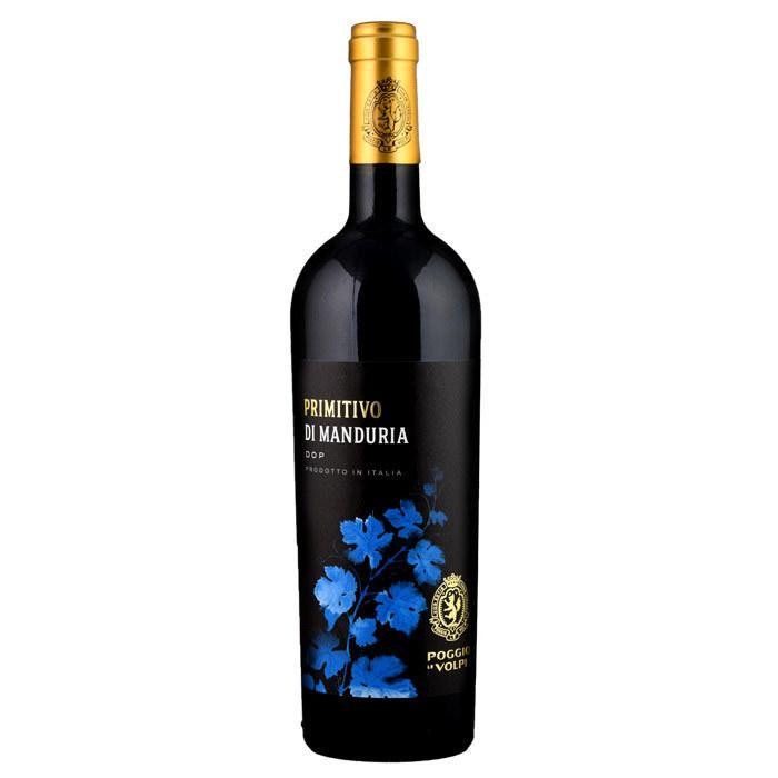 プリミティーヴォ・ディ・マンドゥーリア[2018]ポッジョ・レ・ヴォルピ 赤 750ml Primitivo di Manduria DOC[POGGIO LE VOLPI] イタリア プーリア 赤ワイン|unibiswine|02
