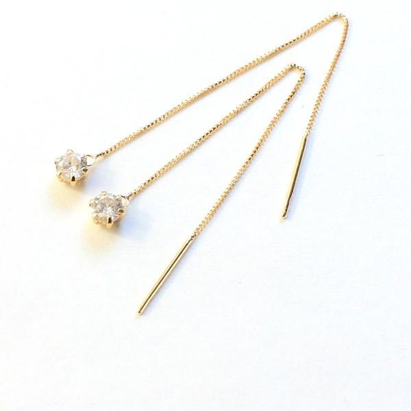 【WEB限定】 k18 0.3ct イエローゴールド ダイヤモンド ダイヤモンド 0.3ct アメリカン アメリカン チェーンピアス〔〕, シオタチョウ:bc3b1b2b --- airmodconsu.dominiotemporario.com