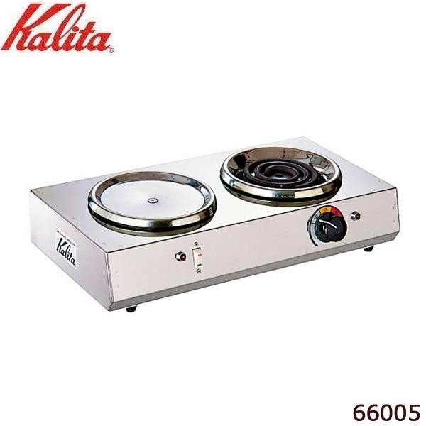 Kalita(カリタ) 1.8L デカンタ保温用・湯沸用 2連ハイウォーマー ヨコ型 66005
