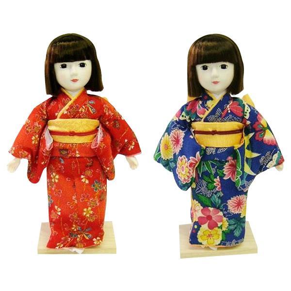 着付けが学べる日本人形 夢さくら [赤・56111]