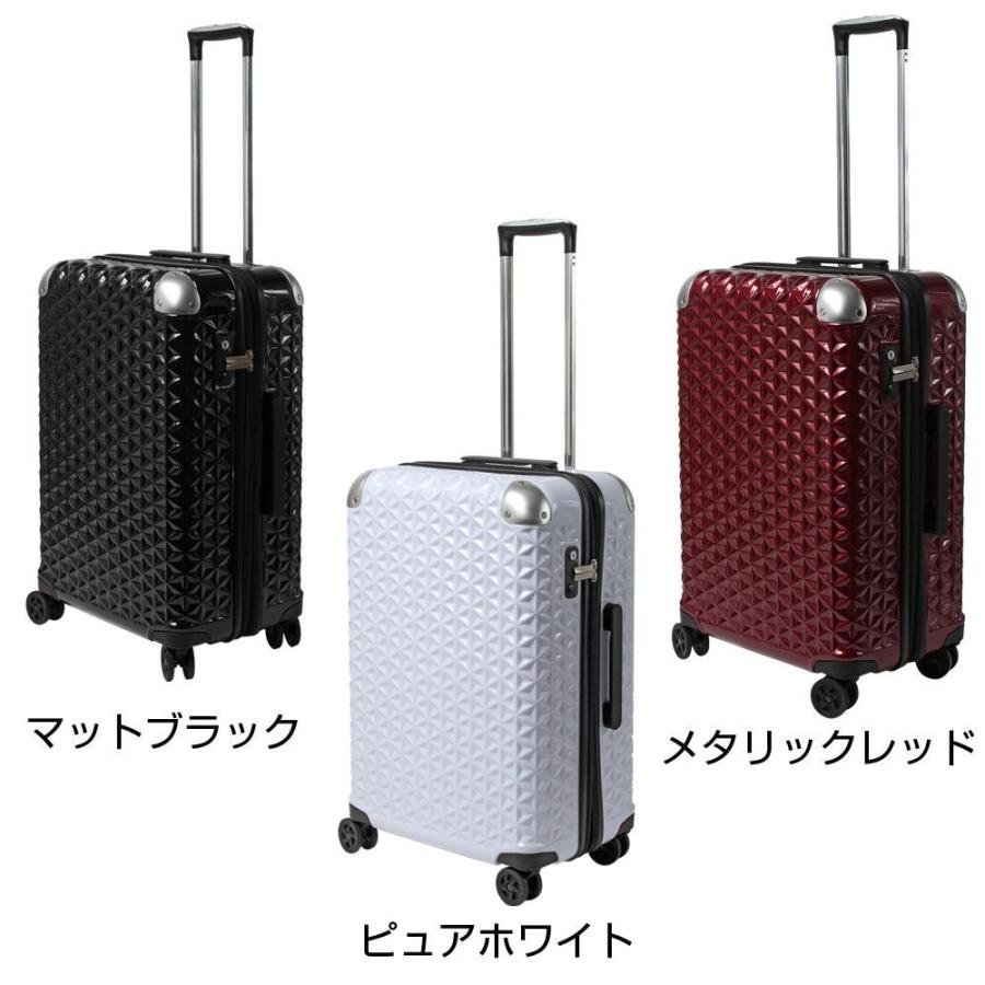 静音 スーツケース SAY1802 [メタリックレッド]