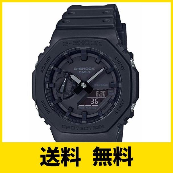 [カシオ] 腕時計 ジーショック カーボンコアガード GA-2100-1A1JF メンズ ブラック unicorn-shop8199