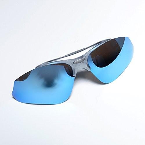 【正規取扱店】 ディープグレー×ブルーミラー RUDY PROJECT(ルディープロジェクト) EXCEPTION(エクセプション) 用交換レンズ カラーレ, 彩プラス bf841408