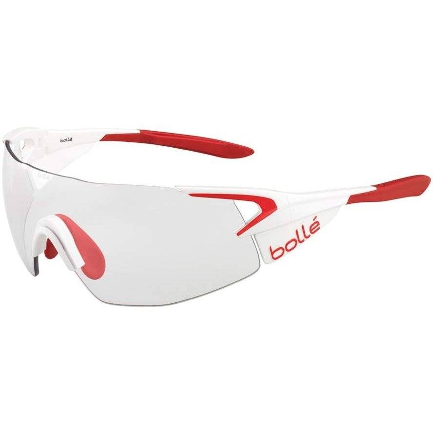 【お年玉セール特価】 bolle(ボレー) 5th Element Pro Matte White/Red Modulator Clear Gray 12148, asian closet 9b6891e5