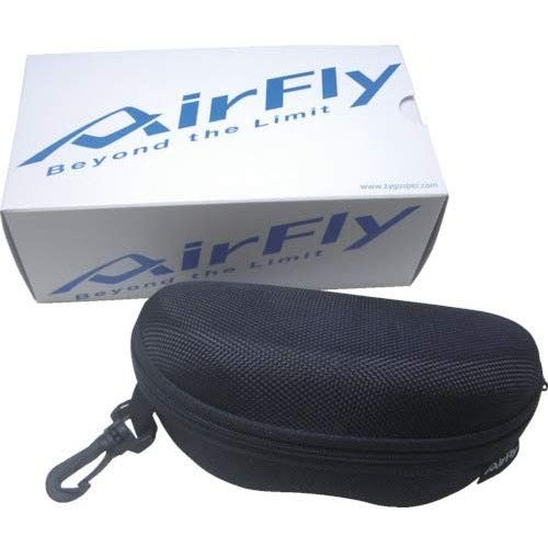 【人気商品】 AirFly(エアフライ) C ノーズパッドレススポーツサングラス AirFly オーバルレンズ ブラックパール/ダークグレイ AF-102 オーバルレンズ AirFly C, BAGHOLIC:9fc44d0c --- airmodconsu.dominiotemporario.com