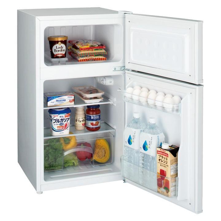 (在庫処分)2ドア直冷冷蔵庫 JR-N85A-W ハイアール unidy-y 03