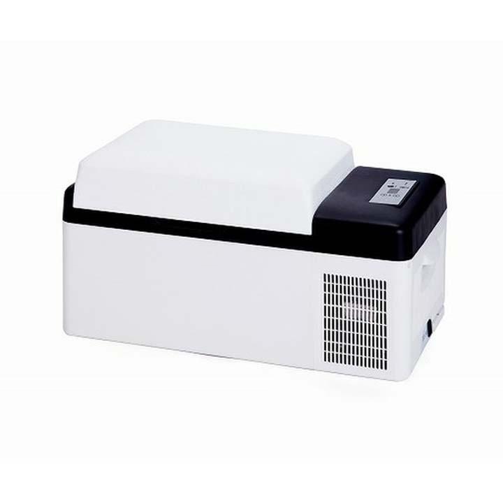 家庭用・車載用電源対応 保冷庫 20リットル ホワイト VS-CB020 ベルソス (D)(B)