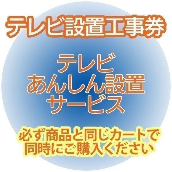 テレビあんしん設置サービス テレビ設置券  (代引き不可)|unidy-y