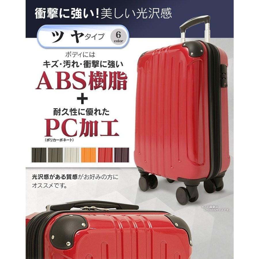 スーツケース 機内持ち込み 軽量 Sサイズ キャリーケース キャリーバッグ 40L 2〜3泊 ビジネス TSA搭載 送料無料 unidy-y 02