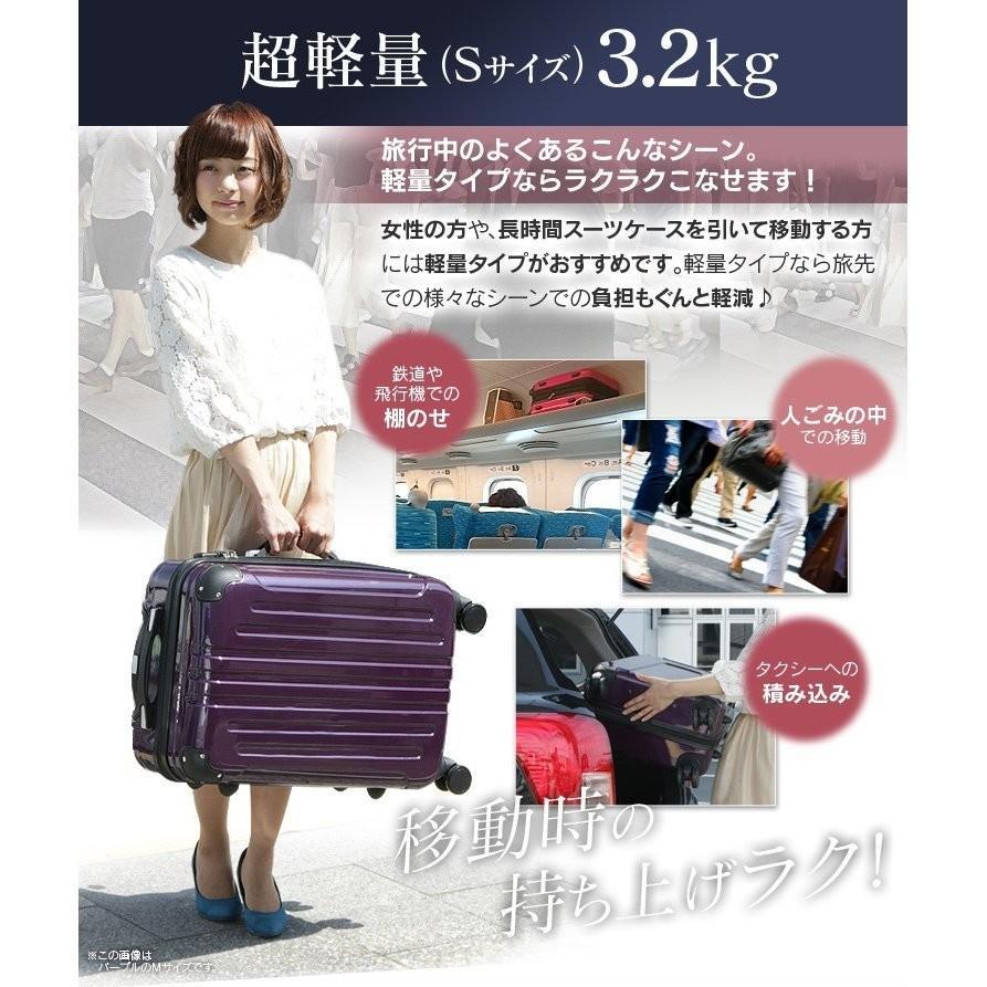 スーツケース 機内持ち込み 軽量 Sサイズ キャリーケース キャリーバッグ 40L 2〜3泊 ビジネス TSA搭載 送料無料 unidy-y 10