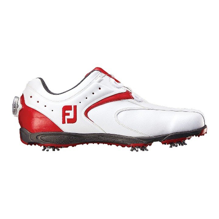 ゴルフシューズ EXL Boa ホワイト/レッド 45140 フットジョイ