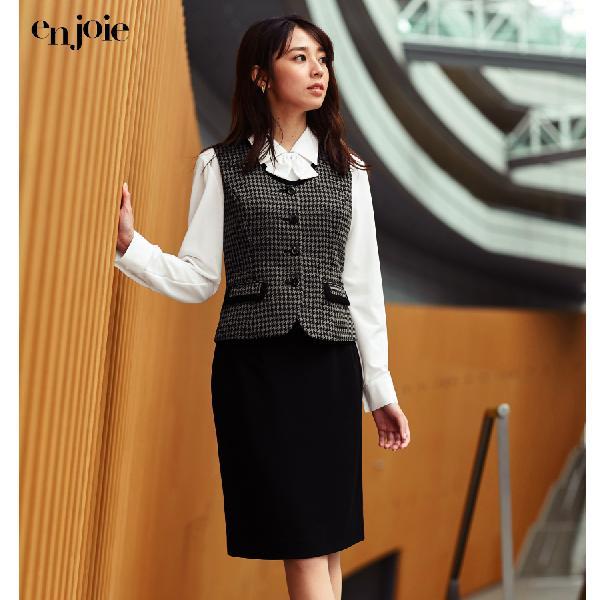 事務服 制服 en joie アンジョア タイトスカート 51870 Uniform Japan - 通販 - PayPayモール