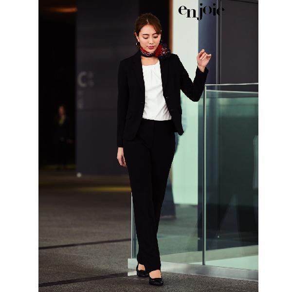 事務服 制服 en joie アンジョア パンツ 71812 Uniform Japan - 通販 - PayPayモール