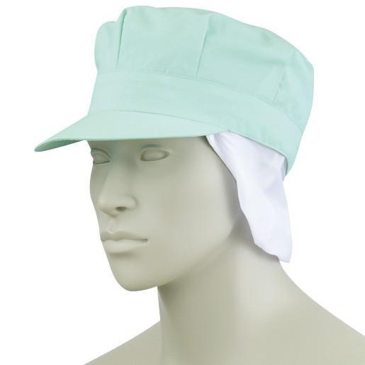 クッキング・サービス 天メッシュ八角帽子たれ付 9-1067 住商モンブラン|uniform-shop