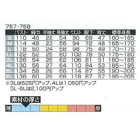 つなぎ服 つなぎ服 758 ヤマタカ|uniform-shop|04