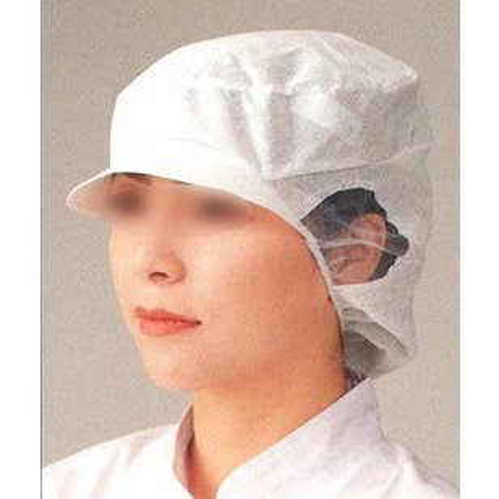 帯電帽ツバ付深型(20枚入り) SG-121 ビーバーズキャップ