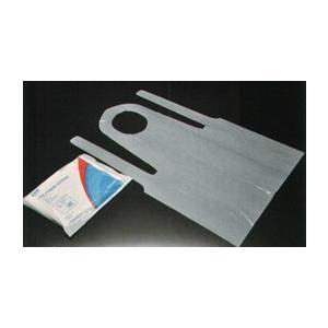 ポリエプロン胸当エプロン(1ケース(100枚)×10入り) R94110 ダック