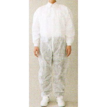 男女共用 不織布ユニフォーム 続き服(1箱/50着入り) MST76731 サンエス