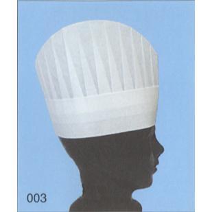 不織布使い捨てコック帽(NO.003)(200枚入り) A2300 ライフ