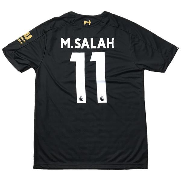 2020サッカーユニフォーム リヴァプールアウェイ モハメド サラー M.SALAH 背番号11 ショッピング 2020春夏新作 フリー 大人用 M ノンブランドユニフォーム