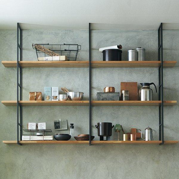 ウッドワン ブラケット カベツケ H638用ブラック MKATK06-1-K unimoku 03