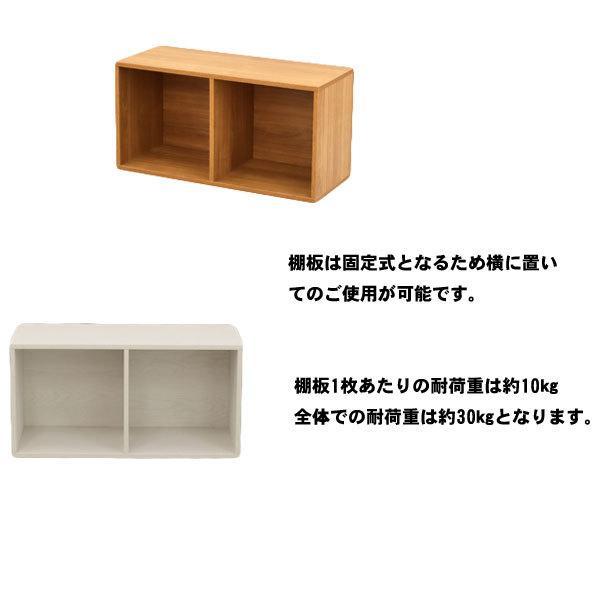 カラーボックス 2段 A4ファイル 収納 収納ケース テレワーク 本棚 送料無料 スリム オープンラック おしゃれ 本棚|unit-f|03