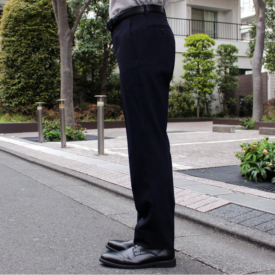 スラックス メンズ ノータック スリム 無地 ストレッチ 裾上げ済み 洗える 送料無料 SALE|united-japan|07