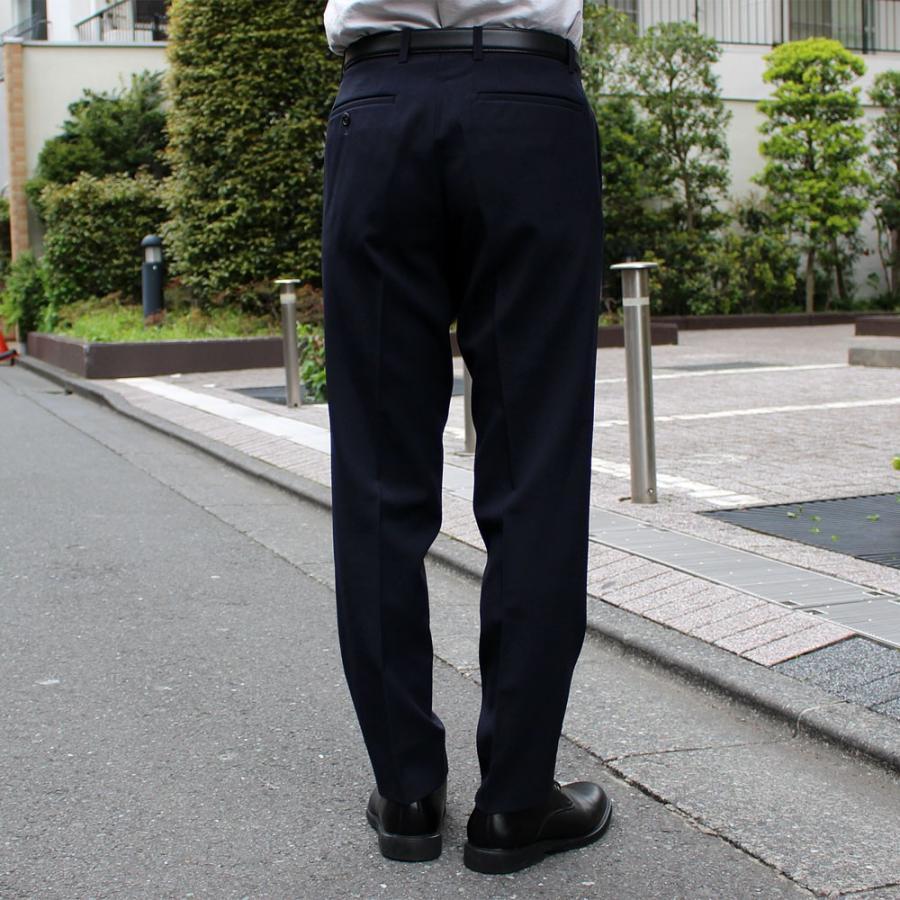 スラックス メンズ ノータック スリム 無地 ストレッチ 裾上げ済み 洗える 送料無料 SALE|united-japan|08