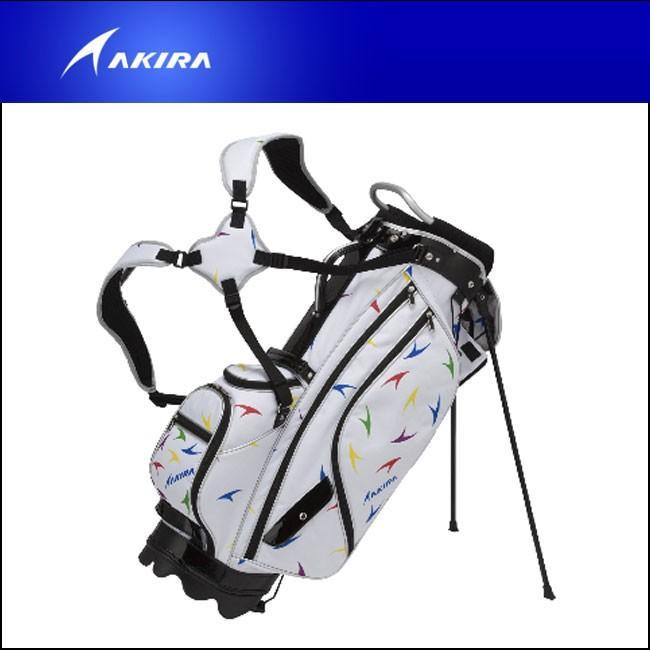 【 新品 】 アキラ AKIRA アキラ キャディバッグ 18 CADDIE BAG STAND式 9inch SPREAD柄 2018 高級, とちぎけん ae1a742c