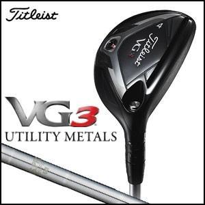 タイトリスト Titleist VG3 ユーティリティ N.S.PRO 950FW メンズゴルフクラブ