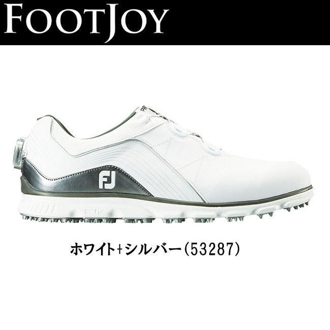 フットジョイ FOOTJOY メンズ NEW FJ Pro/SL Boa ゴルフ シューズ スパイクレスシューズ 2018モデル 53287 あすつく