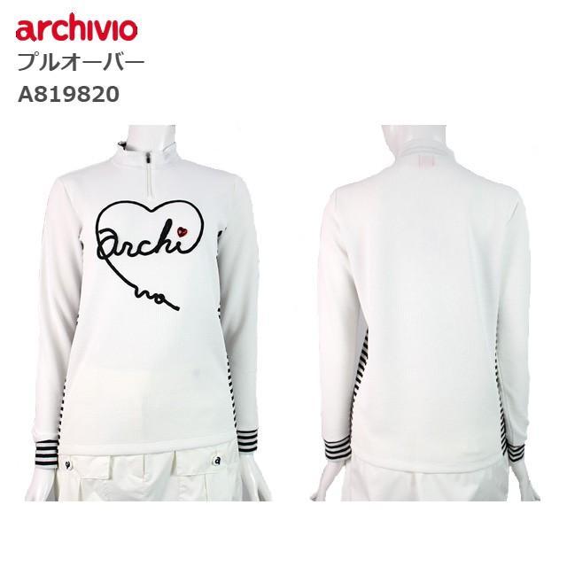 アルチビオ レディース ゴルフ ウェア 長袖 プルオーバー archivio A819820 あすつく ユナイテッドコアーズ