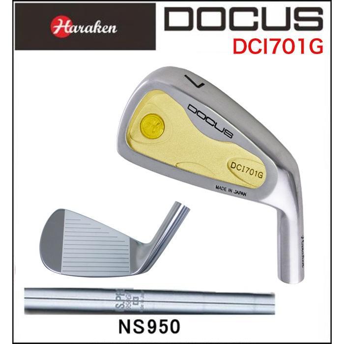 ドゥーカス DOCUS メンズ ゴルフ クラブ アイアン DCI701G 単品 #4 N.S.PRO 950 GH