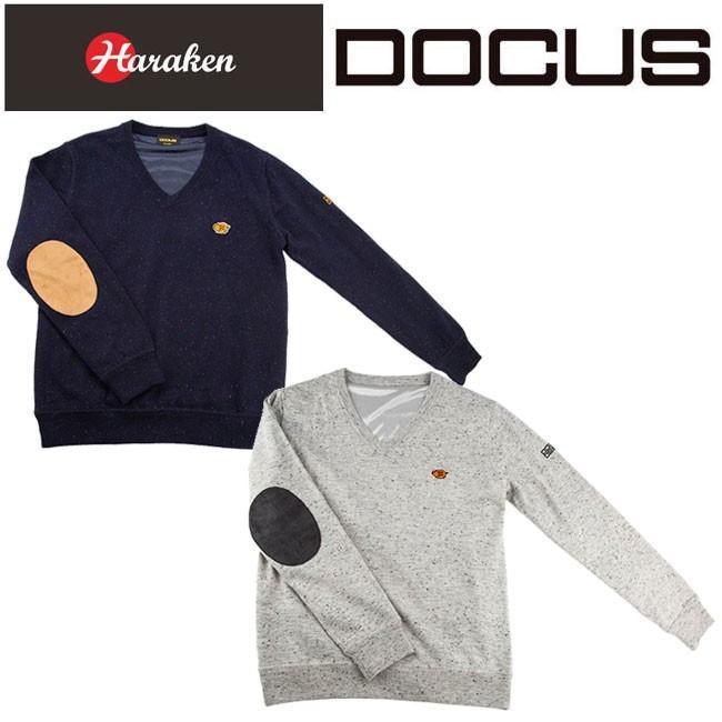 ドゥーカス DOCUS Vネック セーター WIND メンズ レディース ゴルフウェア DCM18A003