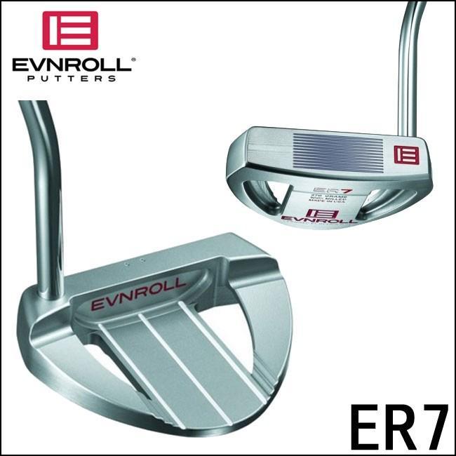 イーブンロール EVNROLL メンズゴルフクラブ ER7 フルマレット パター