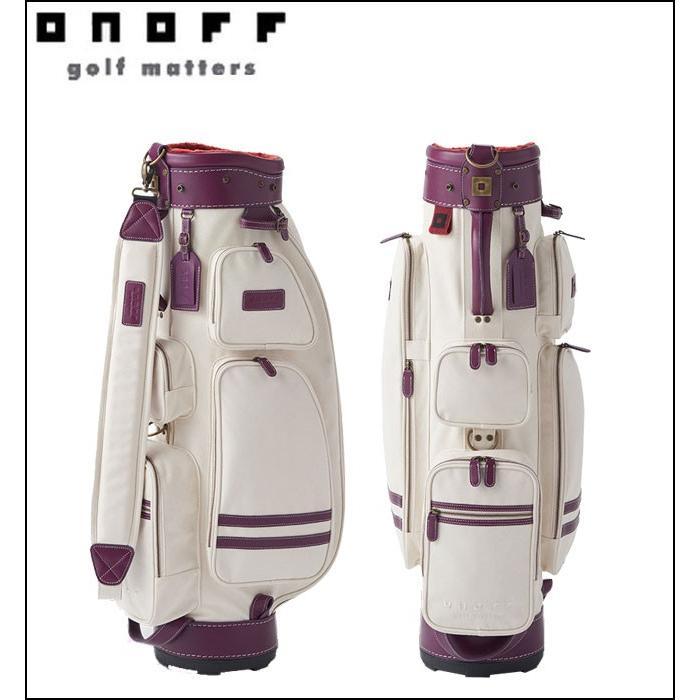 オノフ ONOFF ゴルフ レディース キャディバッグ 高級 OB1817