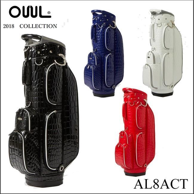 オウル OUUL オールゲーターコレクション メンズ ゴルフ カートバッグ キャディバッグ 5WAY CART BAG AL8ACT 2018 高級