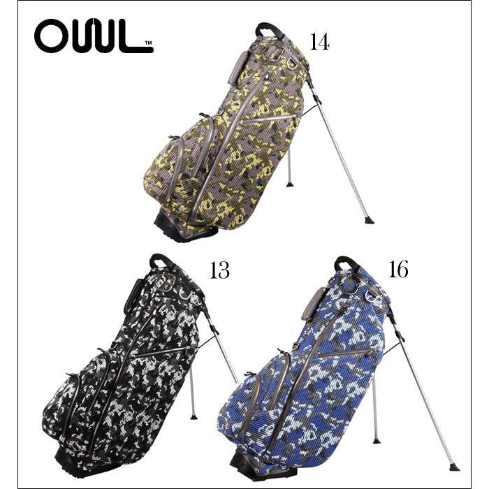 オウル OUUL メンズ ゴルフ スタンドバッグ キャディバッグ CAMOUFLAGE COLLECTION カモフラージュコレクション 5WAY STAND BAG RB6ST