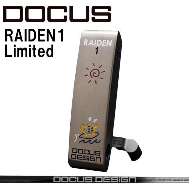 ドゥーカス DOCUS メンズゴルフクラブ パター RAIDEN1 Limited 波乗りウリ カーボンシャフト 世界1本限定