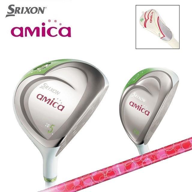 ダンロップ スリクソン アミカ フェアウェイウッド FW カーボンシャフト レディース ゴルフ クラブ DUNLOP SRIXON AMICA ユナイテッドコアーズ あすつく