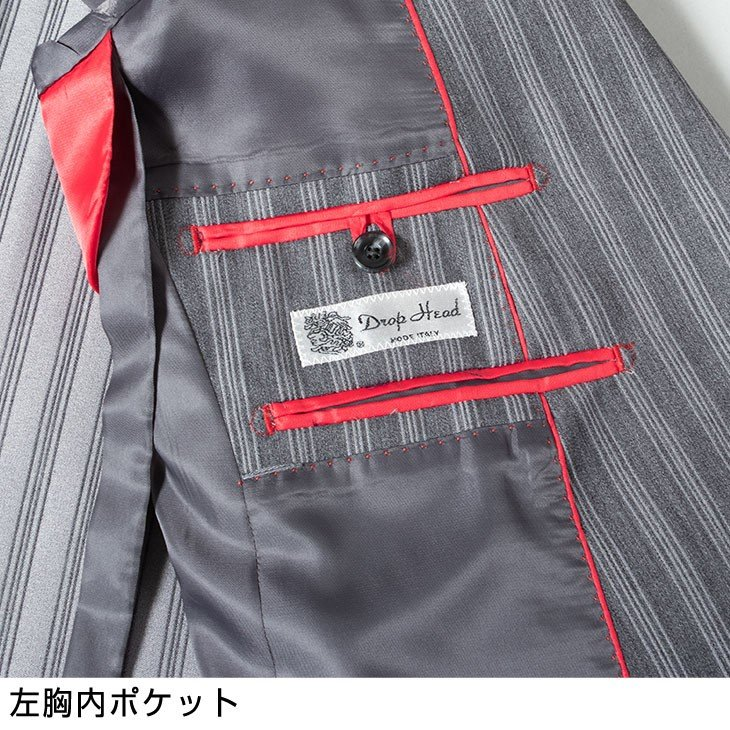 ダブルスーツ メンズ パーティー ドレススーツ ゆったりシルエット オールシーズン 春夏 ツータック ステージ衣装 120821 1.2.3.4 送料無料|unitedgold|16