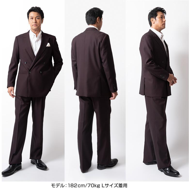 ダブルスーツ メンズ パーティースーツ ドレススーツ ゆったりシルエット ツータック ステージ衣装 結婚式 大きいサイズ 120871 1.2.3.7.8.9 送料無料 unitedgold 16