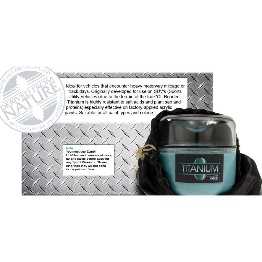 ZYMOL ザイモール Titanium Glaze チタニウムグレイズ ハンドメイド Z-155 8oz コーティング剤 カーワックス 最高級WAX 100%正規品|universalmart|02