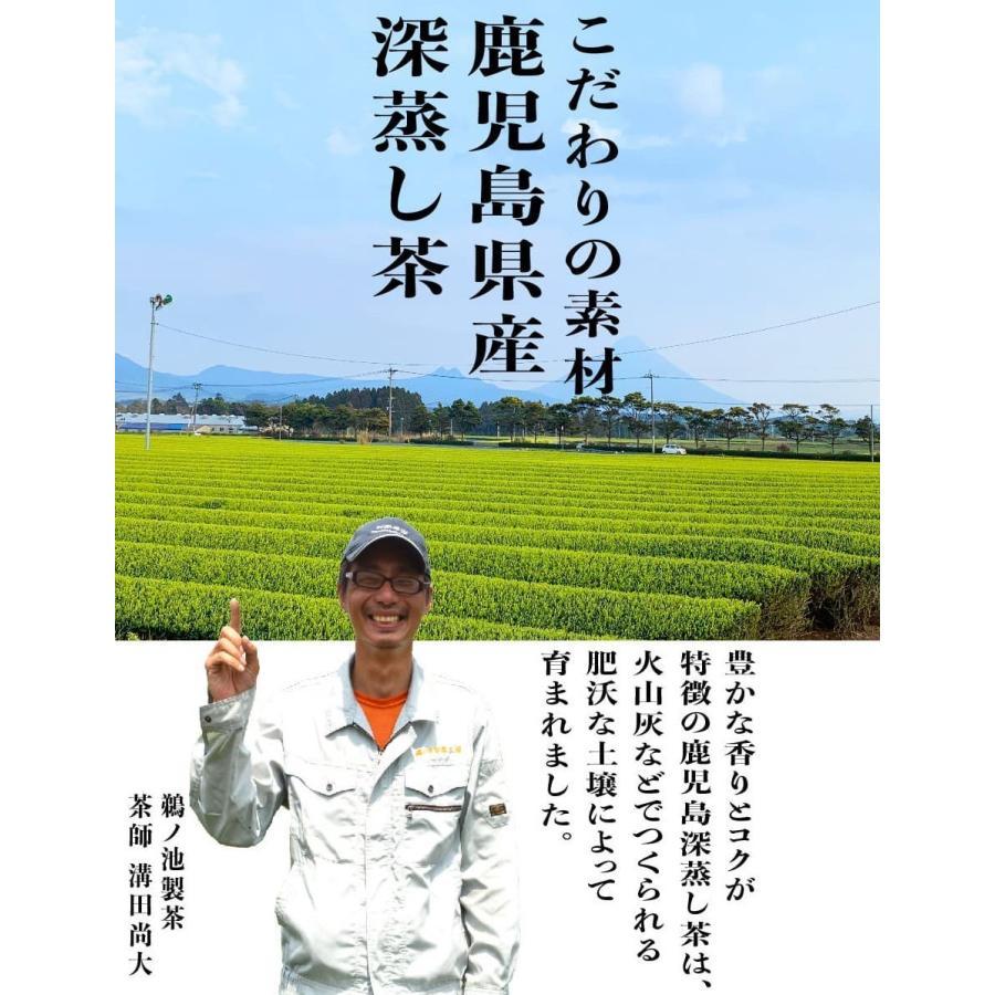 鹿児島茶 送料無料 緑茶 お徳用 お茶 ティーバッグ 2.5g×100個入 ティーパック 大容量 カテキン 100包 水出し オフィス 業務用 いつどこ ネコポス|unoike|10