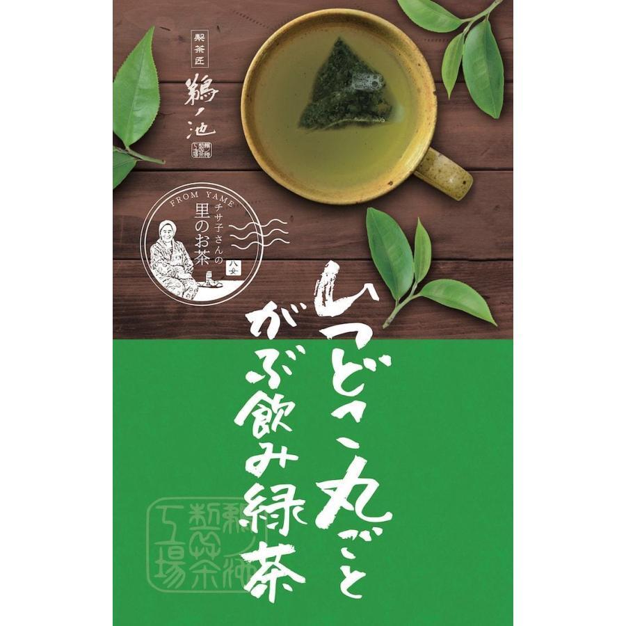 鹿児島茶 送料無料 緑茶 お徳用 お茶 ティーバッグ 2.5g×100個入 ティーパック 大容量 カテキン 100包 水出し オフィス 業務用 いつどこ ネコポス|unoike|02
